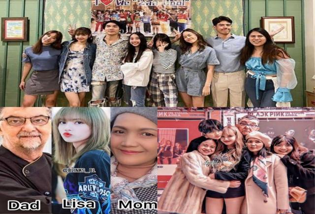 Lalisa Manoban childhood and parents