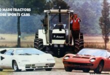 which entrepreneur made tractors before entering the sports car business