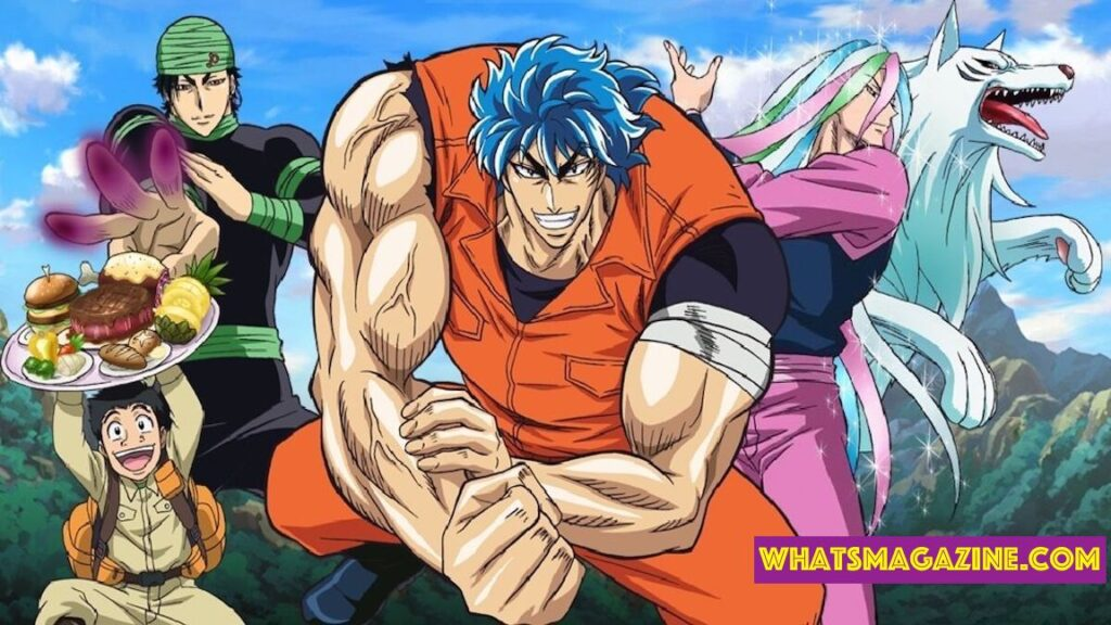 Anime food This anime follows the experiences of a very buff and unknown man called Toriko. He is a Gourmet Hunter whose first purpose is to locate the godliest and flavorful fixing on earth.