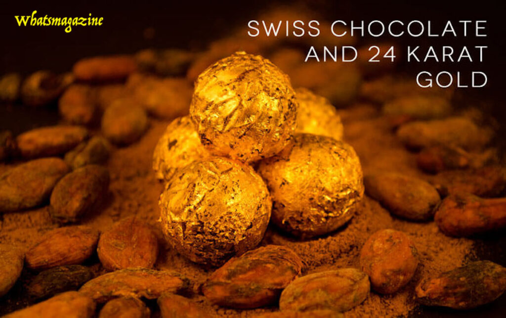 most expensive chocolateDeLafée of all Switzerland's Gold chocolate-box has a Swiss National lender golden coin reprinted between 1910 and 1920.