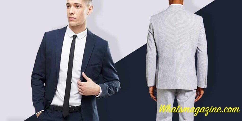 Donning a seersucker match does not always have to mean oriental elegance necessarily. The cloth is also exceptionally sensible once you are suiting up in hot weather and also now's versions can be bought in modern, hot cuts.
