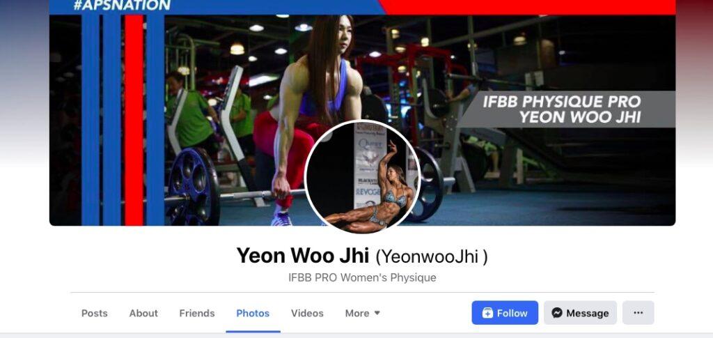 Yeon Woo Jhi on Social Media
