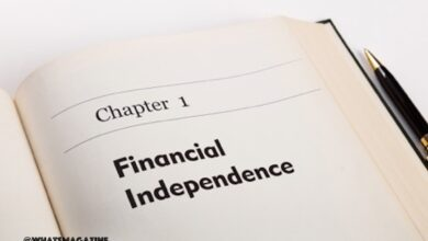 how to be financially independent