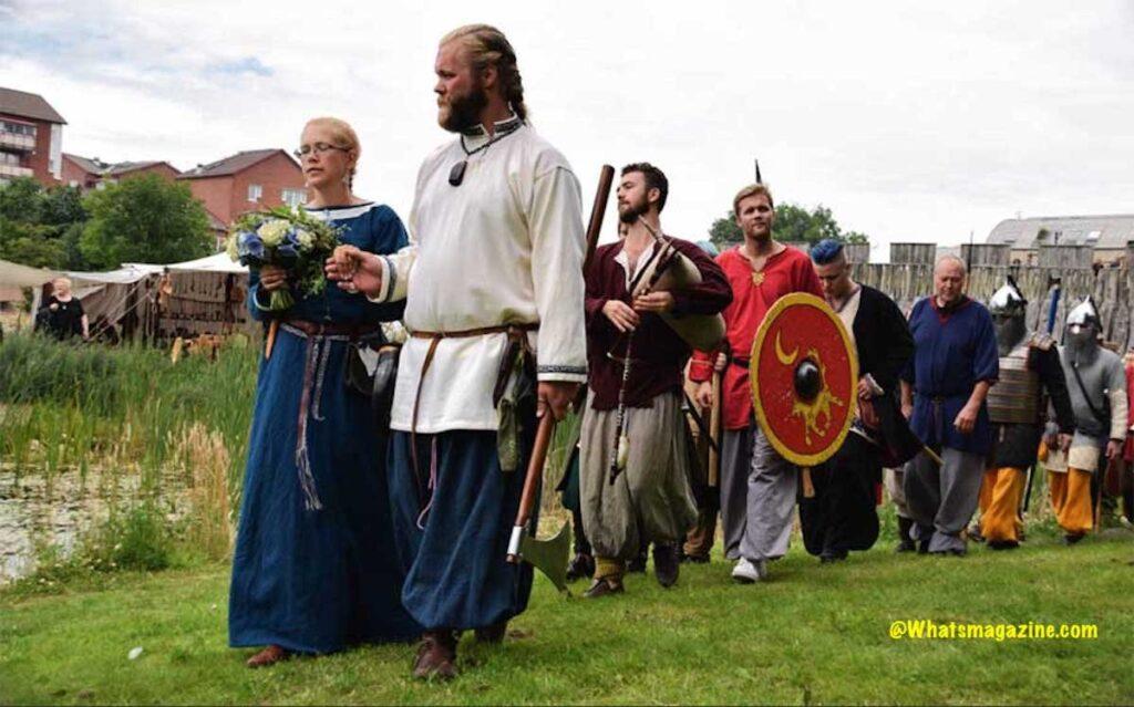 Viking Wedding preparation