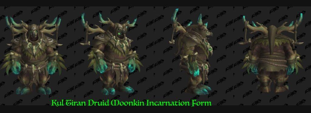 Kul Tiran Druid Forms: