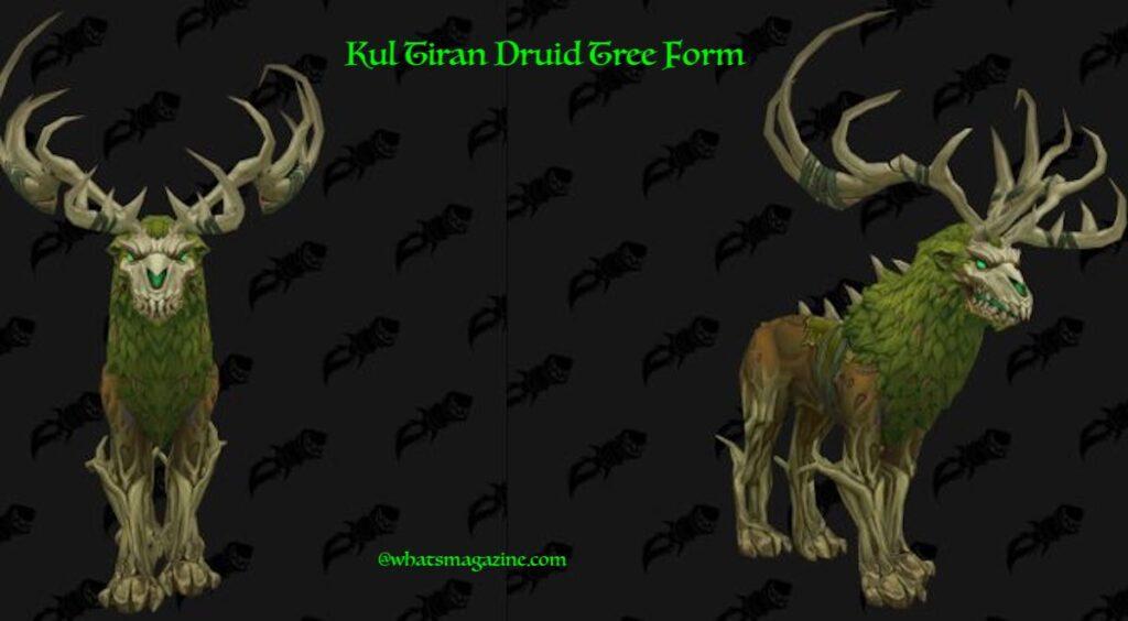 Kul Tiran Druid Forms