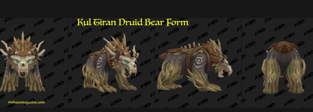 Kul Tiran Human Druid Forms