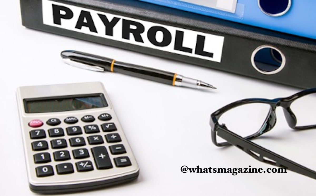 processing payroll